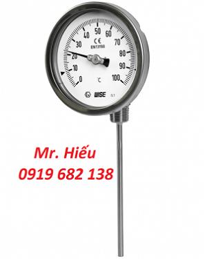 Đồng hồ nhiệt độ WISE T191 dạng chân xoay