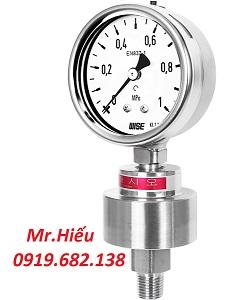 Đồng hồ áp suất màng WISE P701