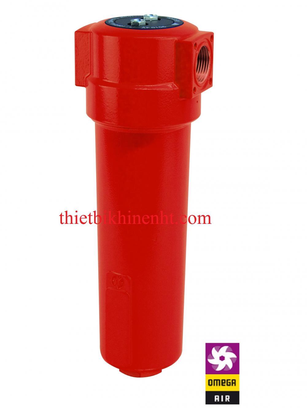 Bộ lọc đường ống khí nén Omega air Model AFs