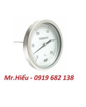 Đồng hồ nhiệt độ WISE T110 dải đo 0~250 độ C