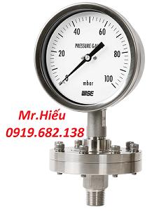Đồng hồ áp suất màng WISE P428-P429