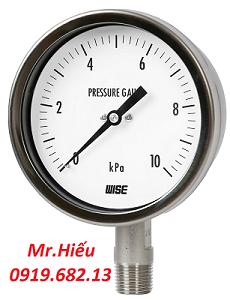 Đồng hồ áp suất thấp WISE P421