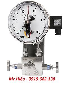 Đồng hồ áp suất chênh áp WISE P650