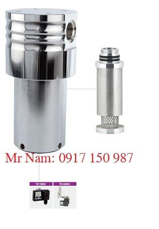 Bộ tách nước ly tâm cao áp Omega Air, vật liệu inox model CKL-IHP