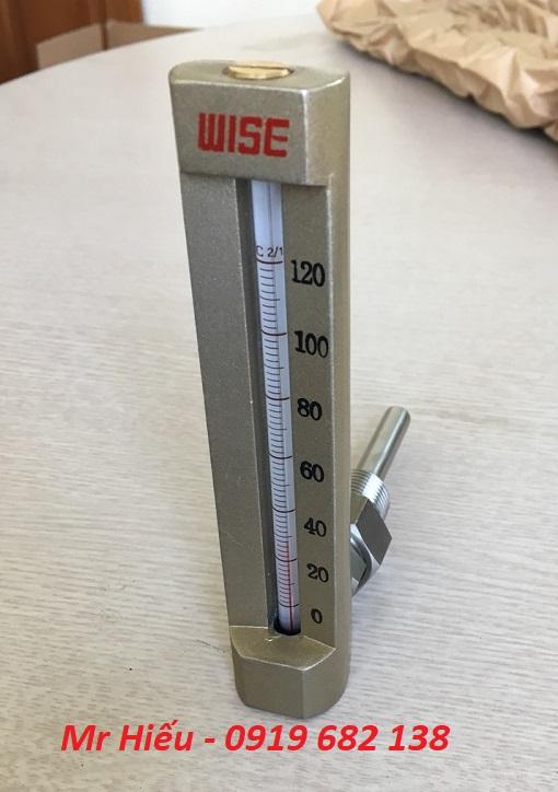 Nhiệt kế thủy ngân WISE T400 dải 120 độ C