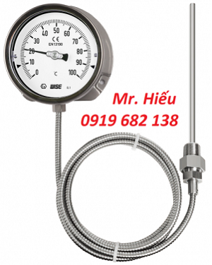 Đồng hồ nhiệt độ dây WISE T210 dải đo 0~100 độ C