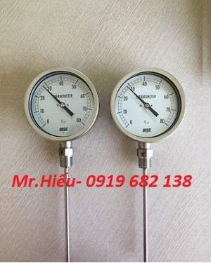 Đồng hồ nhiệt độ WISE T120 dải đo 0~80 độ C