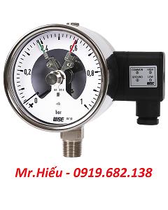 Đồng hồ áp suất tiếp điểm điện WISE P520