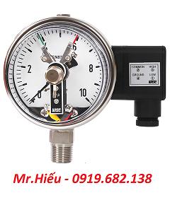 Đồng hồ áp suất tiếp điểm điện WISE P510