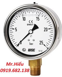 Đồng hồ áp suất WISE P259