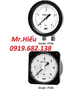Đồng hồ áp suất WISE P336-P338