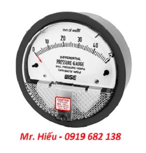 Đồng hồ chênh áp WISE P880