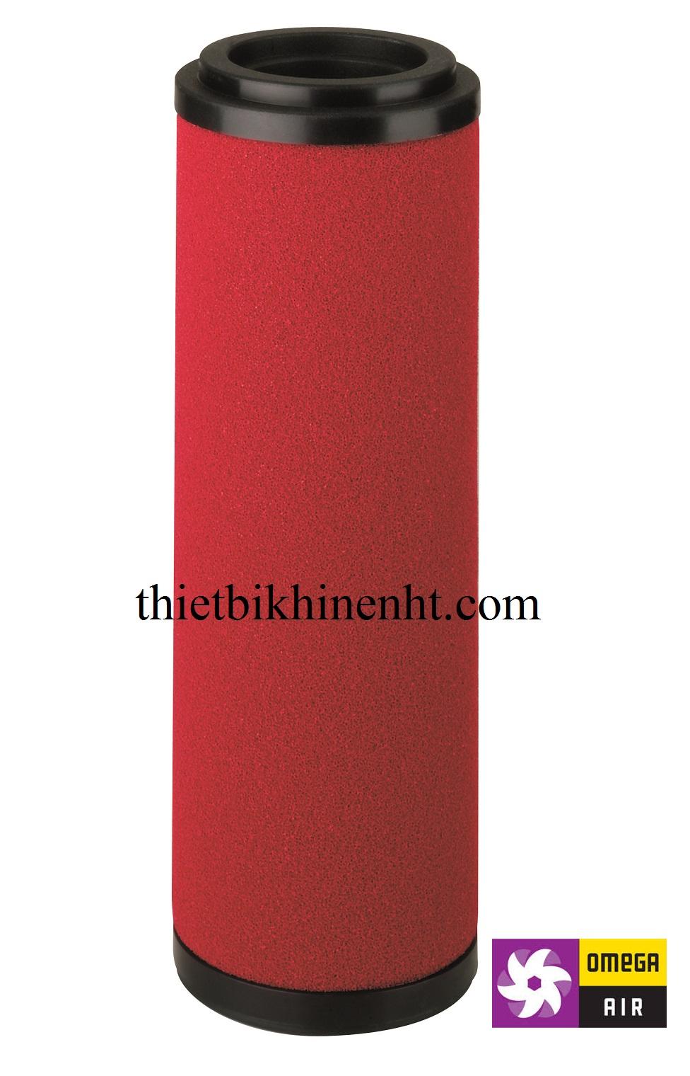 Lõi lọc tinh khí nén Omega air model S, cấp lọc 0,01 micron