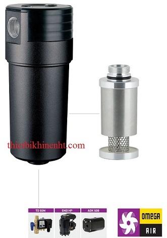 Bộ tách nước cao áp CKL HF omega air, vật liệu hợp kim nhôm