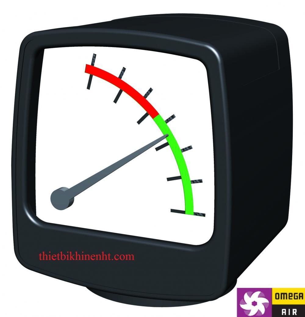 Đồng hồ chênh áp MDM40 Omega Air