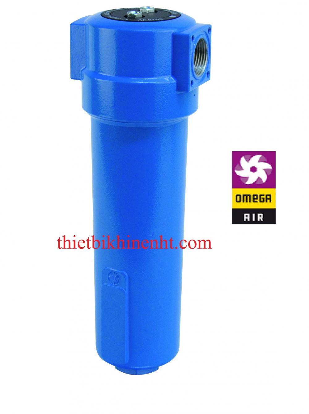 Bộ lọc đường ống khí nén Omega air model AF
