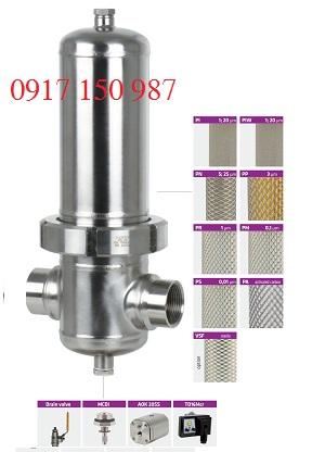 Bộ lọc vi sinh cho đường khí PF Omega Air