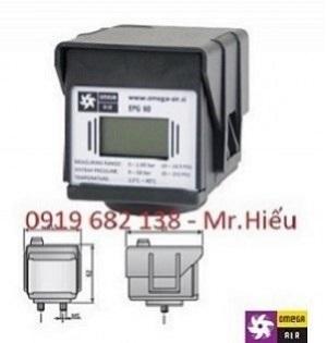 Đồng hồ chênh áp điện tử EPG 60 Omega Air