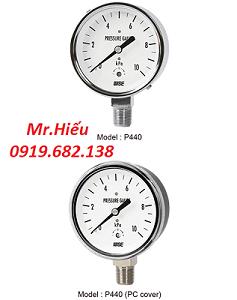 Đồng hồ áp suất thấp WISE P440