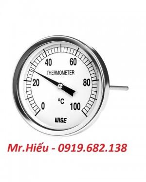 Đồng hồ nhiệt độ WISE T114 dải đo 0~100 độ C