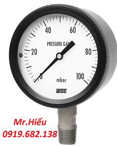 Đồng hồ áp suất thấp WISE P430