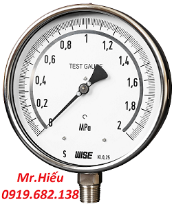 Đồng hồ áp suất WISE P239