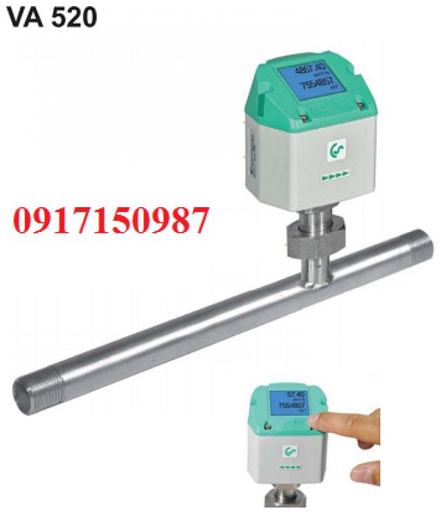 Đồng hồ đo khí cs-instruments VA520 - Đức