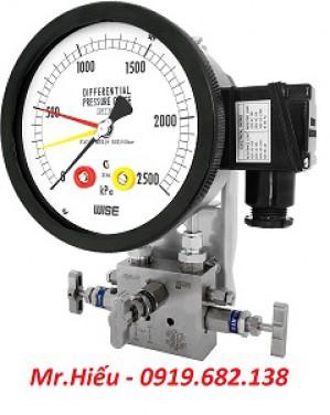 Đồng hồ áp suất chênh áp WISE P680