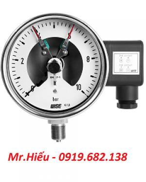 Đồng hồ áp suất tiếp điểm điện WISE P500