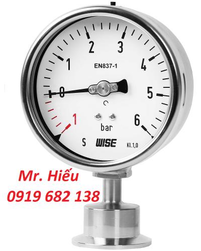 Đồng hồ áp suất WISE Hàn Quốc, Giá tốt nhất, CO, CQ đầy đủ
