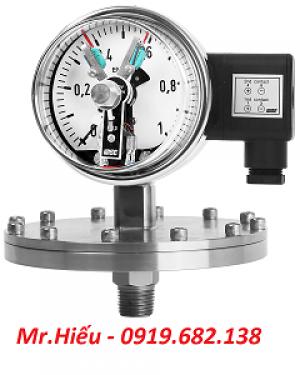 Đồng hồ áp suất tiếp điểm điện WISE P501-P502