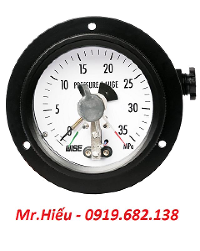 Đồng hồ áp suất tiếp điểm điện WISE P530