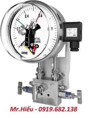 Đồng hồ áp suất chênh áp WISE P690