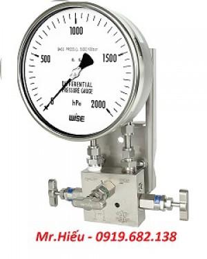 Đồng hồ áp suất chênh áp WISE P660